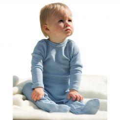 Engel Baby Wolle/Seide Wäsche 70% Wolle 30% Seide Engel Wolle Seide Schlafoverall 70 9160 - Fairtradebar - Fair Trade Kleidung fair gehandelt