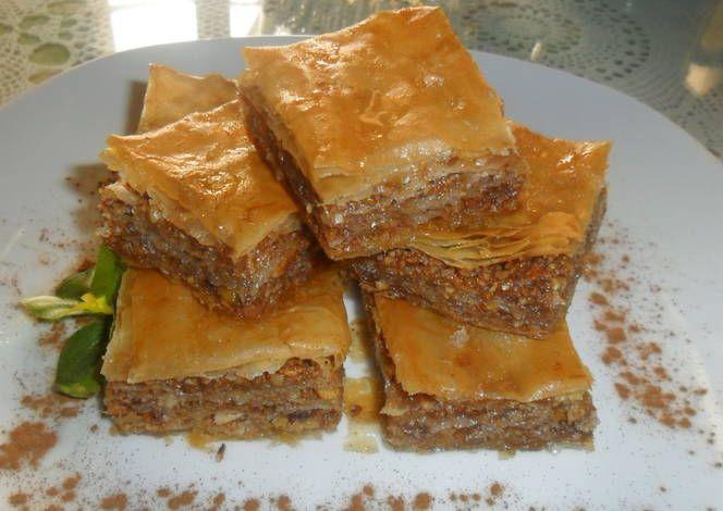 Baklava, pastel griego
