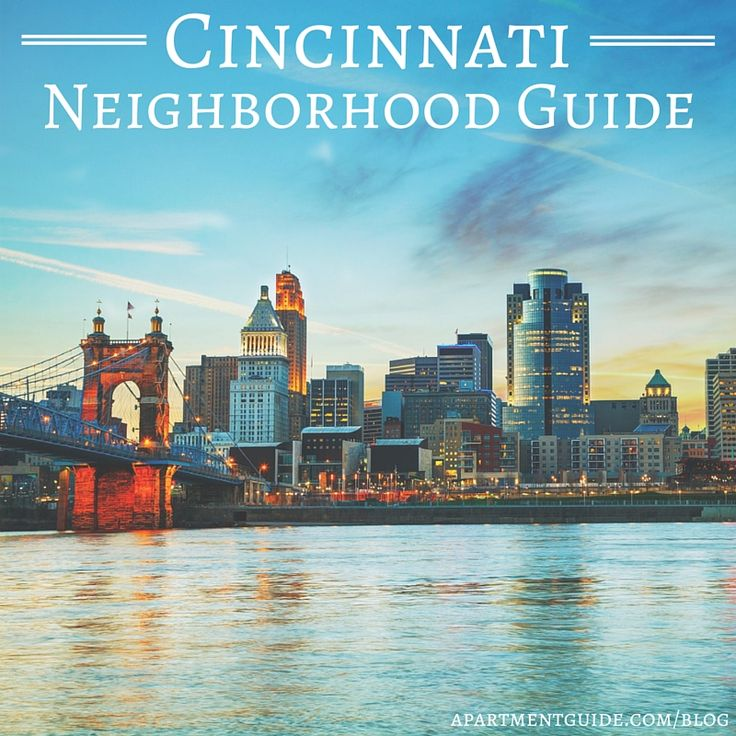 Considering a move to Cincinnati? Get to know the neighborhoods! Downtown, Northside and Mount Adams are just a few areas in this affordable urban city.