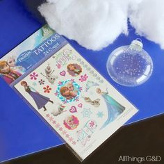 Surprise a Frozen fan on your holiday list with one of these beautiful DIY Frozen Ornaments - it's easier than you think with this amazing trick!   www.allthingsgd.com