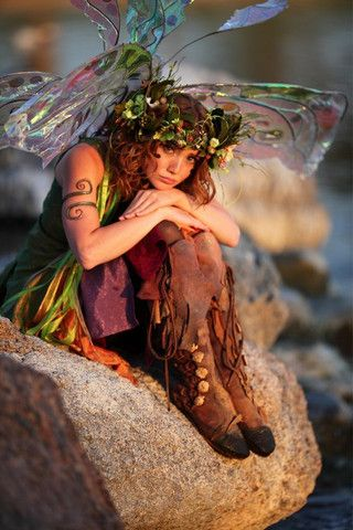 Even fairies can have a pouty day.