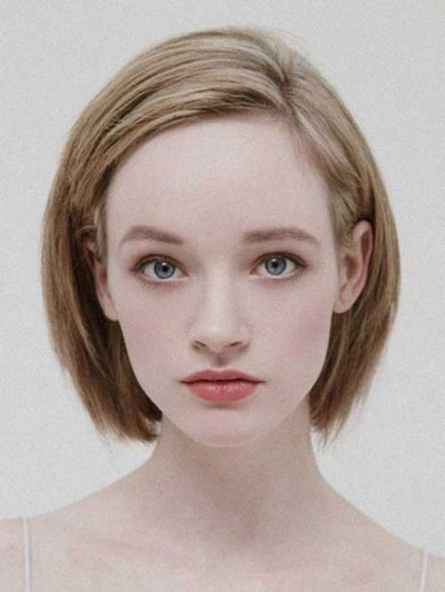 Short Hairstyles for Young Women 2014