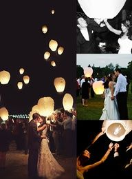 Large Wish Lantern Wedding Package available from Birando