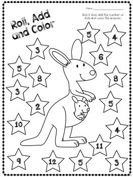 Roll and Color - both color and colour included