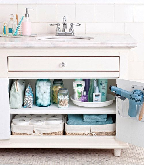 Bathroom Organization Ideas - How To Organize Your Bathroom - Good Housekeeping