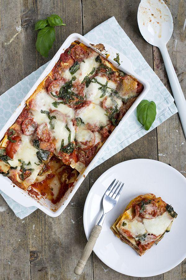 Lasagne melanzane alla parmigiana - Brenda Kookt!