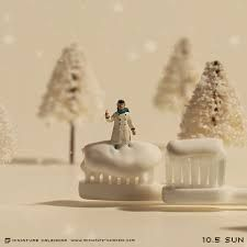Resultado de imagen para miniature calendar