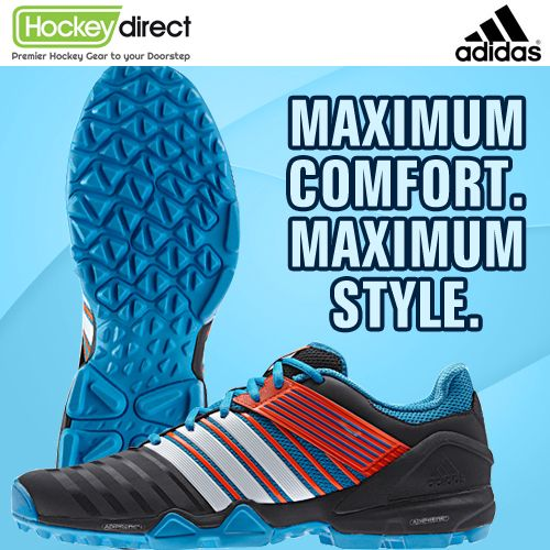 Arrivals lounge: Check out the stunning Adidas Adipower II Hockey Shoes. They're a bit special.