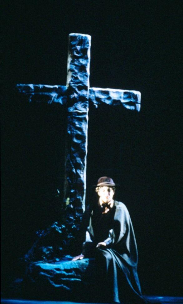 Great Romanian soprano Maria Slatinaru Nistor - La Forza del Destino- San Francisco Opera 1986