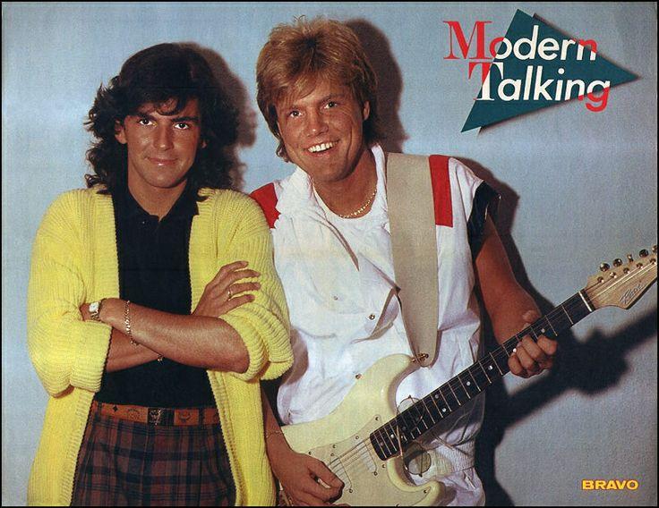 Modern Talking - Super Poster - BRAVO #36 - 29.08.1985
