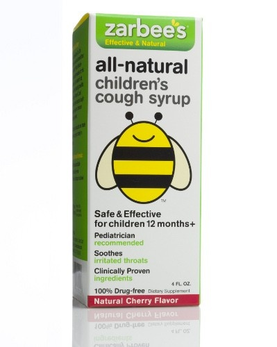 Zarbees All Natural Children's Cough Syrup - Cherry