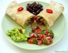 Вегетарианские рецепты: Вегетарианский бурито