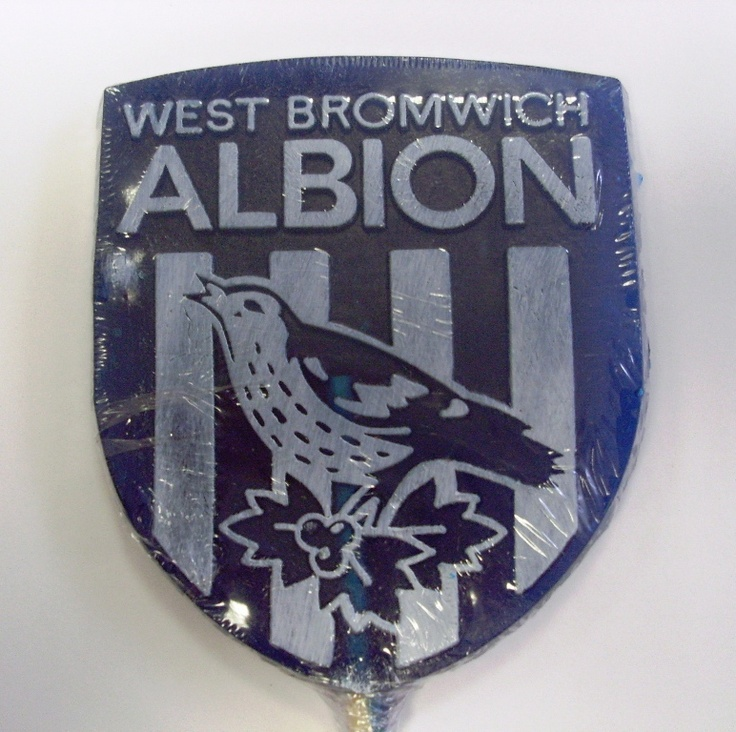 West Bromwich Albion promotional business lollies. Rock candy, favours, personalized sweets, sweets, rock sweets, customizable candy, sweet shop, sweetie, bonbonnier, party sweets, hard candy, unique gift, candy buffet, candy table, treats