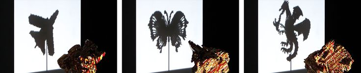 The Shape Of Imagination | LEGO Creative Shadow and Light Sculptures Marketing Event | Award-winning Branding | D&AD #yellowpencilwinner