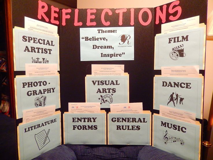 pta reflections board - Google Search