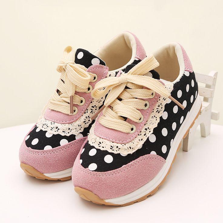 2015 nuevo diseño de primavera y otoño para las niñas transpirable marca moda Floral encaje zapatillas de deporte casuales para el niño del desgaste del bebé, RJ073(China (Mainland))