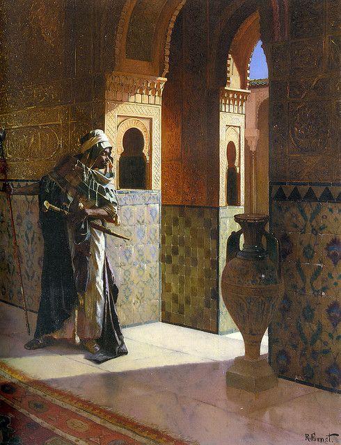 The Moorish Guard by Rudolph Ernst by Enzie Shahmiri - Artist, via Flickr