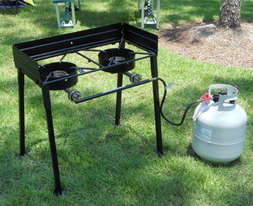King Kooker CS29 30-Inch Two-Burner Outdoor Cook Stove | Best Buy Outdoor Living Products Store