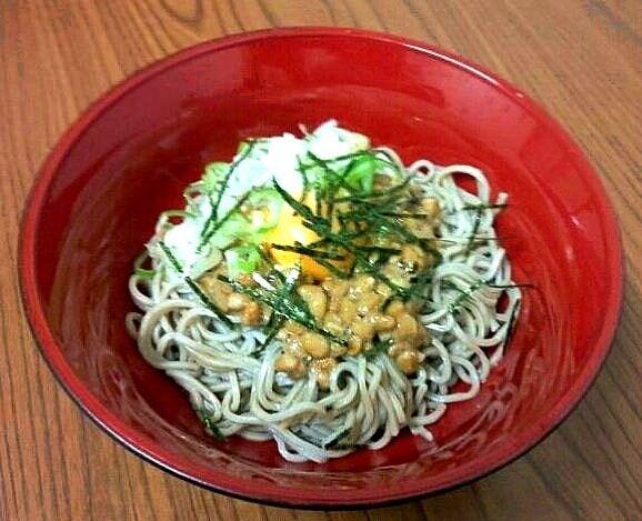 レシピとお料理がひらめくSnapDish - 18件のもぐもぐ - 納豆玉子そば by Johnny