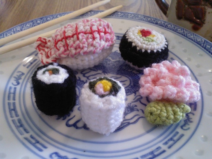Amigurumi Sushi : 78 Best images about Gifts-Sushi Crochet on Pinterest ...