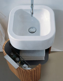 1000 images about duravit on pinterest outdoor bathtub log houses and bath tubs for Fabrique meuble a lavabo