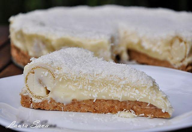 Tort Raffaello | Retete culinare cu Laura Sava