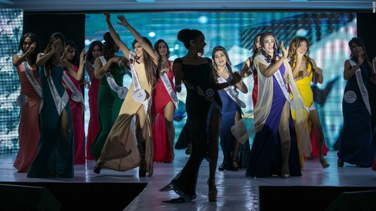 #India crowns first #transgender beauty #queen...