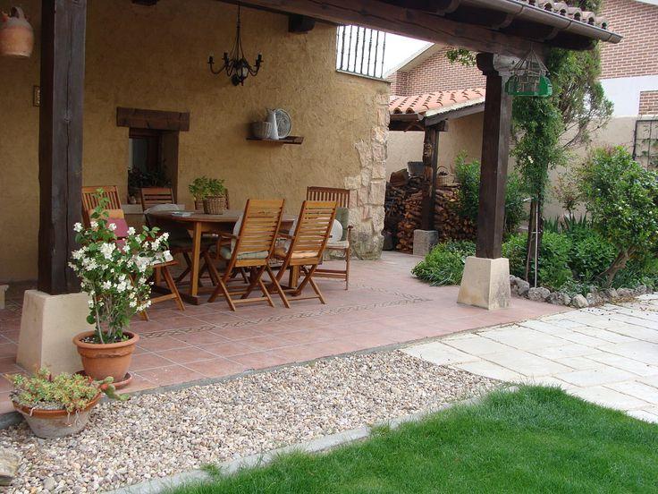 Porches rusticos peque os buscar con google ideas para el hogar patio outdoor decor y - Ideas para patios pequenos ...