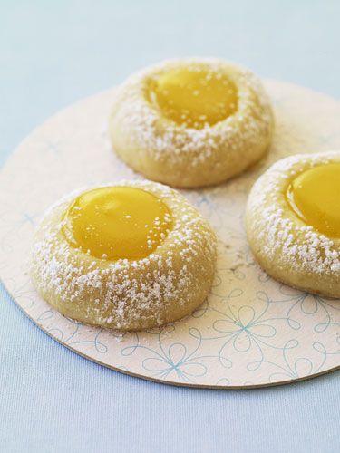 Lemon Thumbprint Cookies Recipe - Redbook