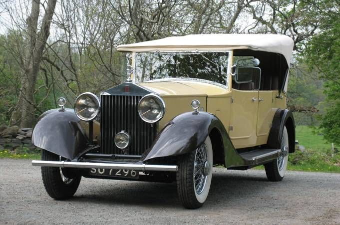 1930 Roll-Royce Phantom II Open Tourer. Maintenance/restoration of old/vintage vehicles: the material for new cogs/casters/gears/pads could be cast polyamide which I (Cast polyamide) can produce. My contact: tatjana.alic@windowslive.com