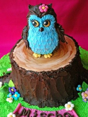 Top Tree Stump Cakes - Top Cakes - Cake Central