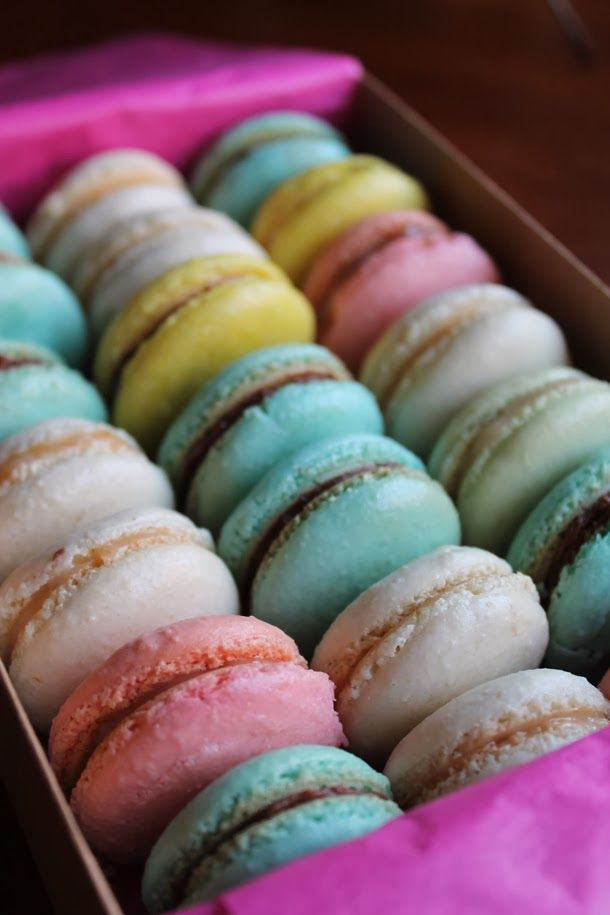 I made a batch of French Macarons the other day. Boy do I love these little things, but they are a pain to make...until I tried this re...