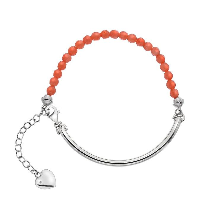 Hot Diamonds Coral Festival Bracelet of 19cm ** More info could be found at the image url.