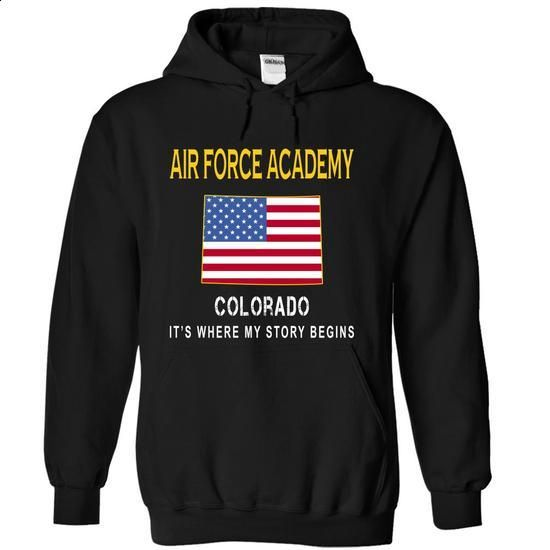 AIR FORCE ACADEMY - Its Where My Story Begins - #dress shirts for men #personalized sweatshirts. I WANT THIS => https://www.sunfrog.com/States/AIR-FORCE-ACADEMY--Its-Where-My-Story-Begins-mfwxv-Black-14140155-Hoodie.html?60505