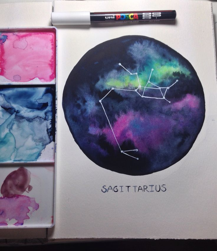 25 Best Ideas About Watercolor Galaxy On Pinterest