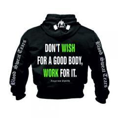 DON'T WISH FOR A GOOD BODY, WORK FOR IT (SW-161) Sveriges största utbud av träningskläder och gymkläder på nätet. www.bigsamab.se  #Imperioo #Imperioosports #bigsamab.se #träningskläder #gymkläder #motivation