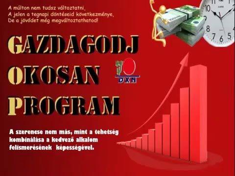 DXN Gazdagodj Okosan Program!