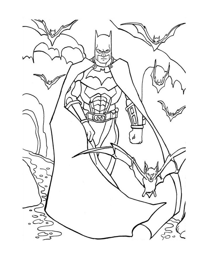 20 unique superhero coloring pages of 2017 for your kids - Coloring 4 Kids