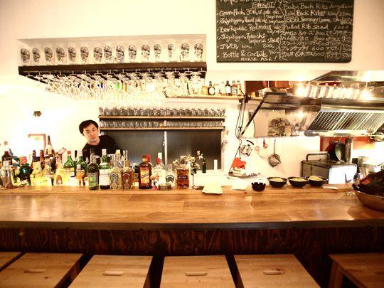 slaptone/スラップトーン 手がけた仕事 | hatos bar【東京 - 中目黒】