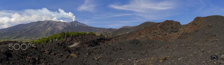 Mount Etna Landscape - Mount Etna Landscape