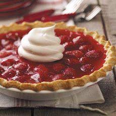 Strawberry Custard Pies Recipe Recipe