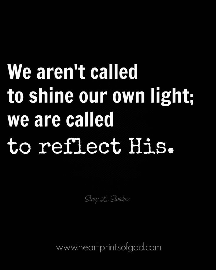 Reflect His...