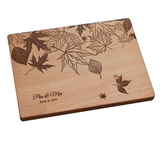 Personalized Gift Engraved Cutting Board w/ by PegasusParchments