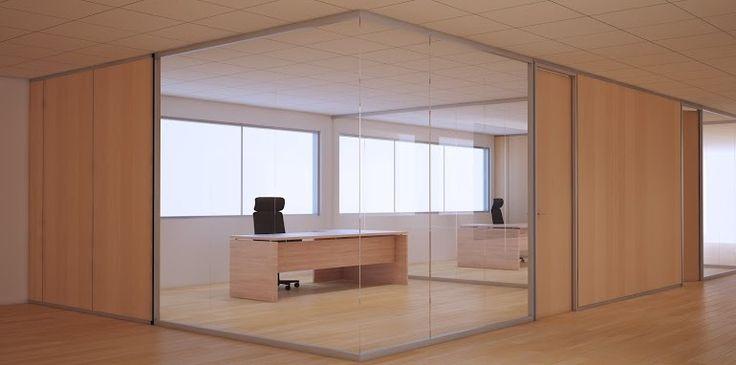 Mampara de oficina Futura V9