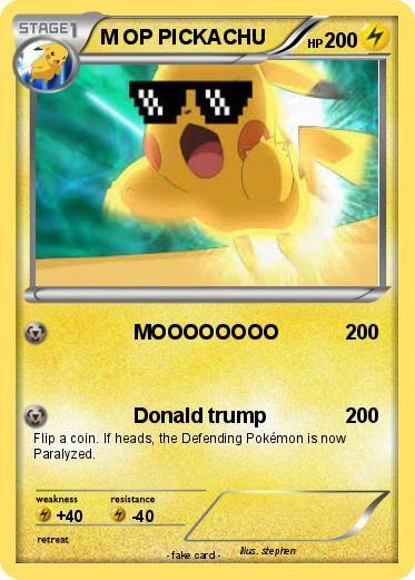 Carte Picachu Pokemon M Op Pickachu Moooooooo My Pokemon Card In 2020 Pokemon Pokemon Cards Pikachu
