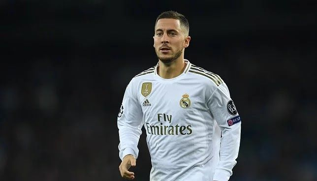 Hazard Looks Forward To The Derby Against Atletico Madrid Realmadrid In 2020 Hazard Real Madrid Atletico Madrid Real Madrid