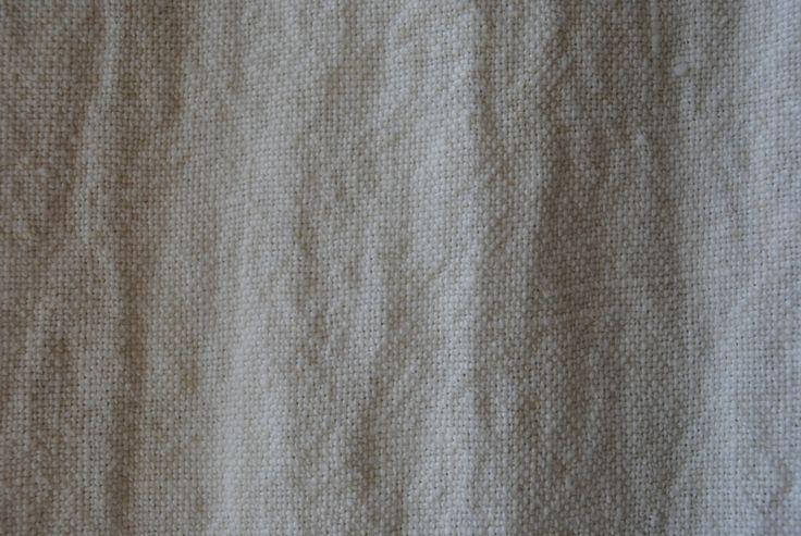 Stoned Linen Coconut 100% linen - 125cm