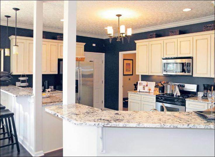 Dark Blue Countertop Kitchen