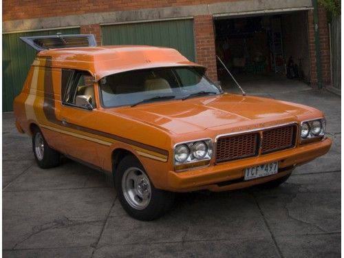 My Valiant Drifter Panel Van 1977