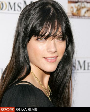 Vogue Daily — eye fringe - selma blair July 2006